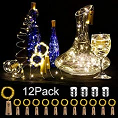 12 Stück LED Flaschenlicht...