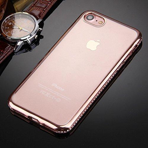 iPhone 6s 6 Case, KrygerShield® - Luxus Leichte super dünnen Diamant Auto Cover - Rose Gold (Anhänger) Rose Gold