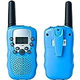 Uping Walkie Talkie Bambini Ricatrasmettitore 8 Canali VOX CTCSS Ricetrasmittente (Azzurro)