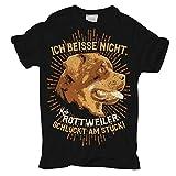 Männer und Herren T-Shirt Rottweiler lustiger Spruch Größe S - 8XL