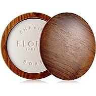 Floris Londres no. 89Jabón de afeitado en un cuenco de madera 100g