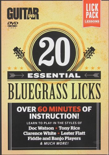 Guitar World -- 20 Essential Bluegrass Licks: Over 60 minutes of instruction! (DVD) [UK Import]