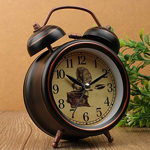 KUAIDCD Reloj Despertador con luz Nocturna Reloj Despertador ...