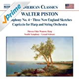 Piston: Symphony No. 4 / Three New England Sketches