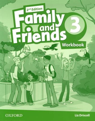 Family and Friends 3 : Workbook par Liz Driscoll