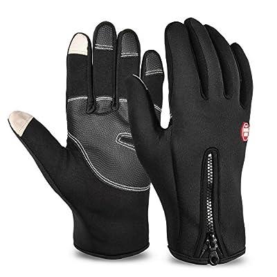 Vbiger TouchscreenHandschuhe Sport Handschuhe Fahrradhandschuhe Handy Handschuhe Motorrad für Unisex