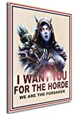 Instabuy Poster Sylvanas I Want You World of Warcraft - A3 (42x30 cm)