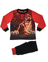 Disney Kids Boys Star Wars Pyjamas PJ's Set Size UK 1-5 Years