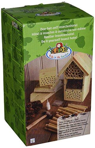 #Esschert Design Bastler Insektenhotel für Kinder, zum selber bauen, ca. 19 cm x 14 cm x 27 cm#