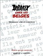 Astérix chez les Belges - Album collector (Tirage limité) de Albert Uderzo