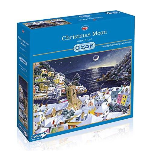 Gibsons - Puzzle de Navidad, diseño de Luna, 1000 Piezas