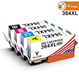 Toner Kingdom 4 Pack Kompatibel HP 364XL 364 Tintenpatronen Für HP Photosmart 5520 6520 7510 5510 5514 5515 5524 6510 7520 D5460 C6380 C5380 Deskjet 3070A 3520 3522 3524 Officejet 4620 4622
