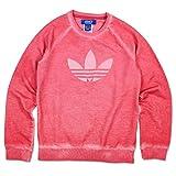 adidas Mädchen Sweatshirt J Tery Crew G, Rosa/Weiß, 164, 4056559651657