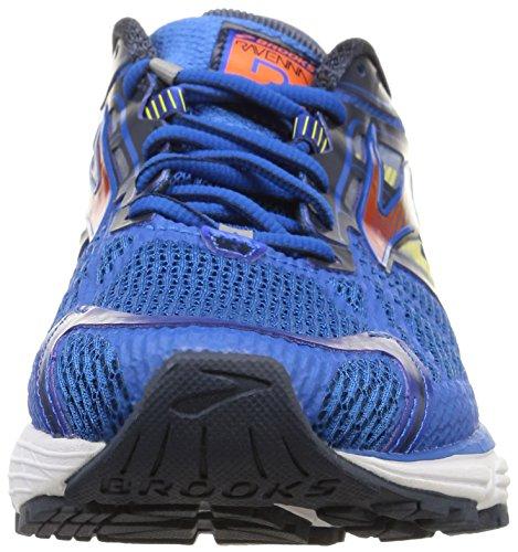 Brooks Ravenna 6, Chaussures de Course Homme Bleu - Blue (Skydiver/Redorange/Cyberyellow)