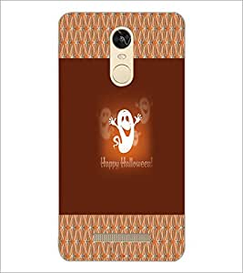 PrintDhaba Funny Image D-4566 Back Case Cover for XIAOMI REDMI NOTE 3 (Multi-Coloured)