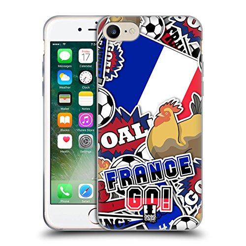 Head Case Designs Protea Stampe Floreali Cover Morbida In Gel Per Apple iPhone 7 Plus / 8 Plus Francia