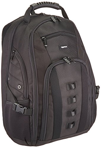 AmazonBasics Adventure Laptop Backpack – Fits Up To 17-Inch Laptops