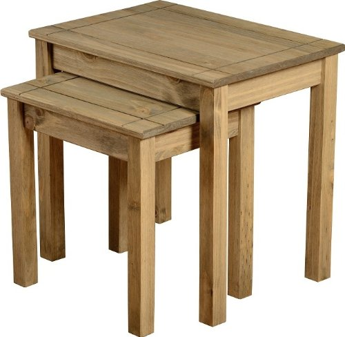Panama - Set di 2 tavoli in cera (Casa Occasional Table Set)