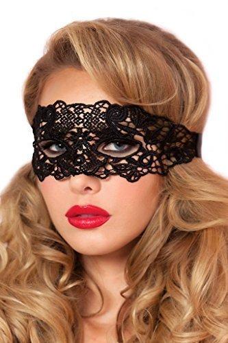 Zarima Damen Maske Maskerade Augenmaske Karneval Fasching Verkleidung Venezianisch Gothic Rollenspiel Adult Kostüm (Einzigartige Kostüme Adult Halloween)