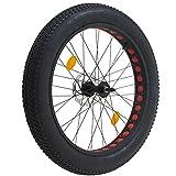 Coyote Fatbike Vorderrad komplett mit Reifen