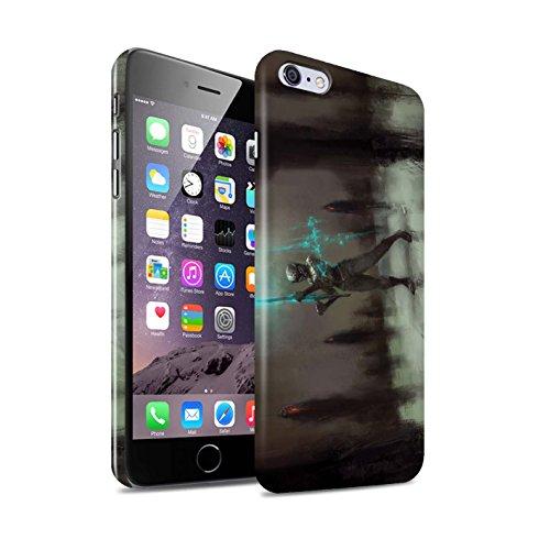 Offiziell Chris Cold Hülle / Glanz Snap-On Case für Apple iPhone 6S+/Plus / Pack 5pcs Muster / Unterwelt Kollektion Schatten Ritter