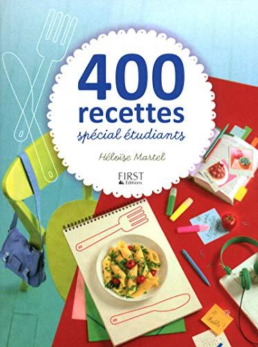 400 recettes spécial étudiants par Héloïse MARTEL
