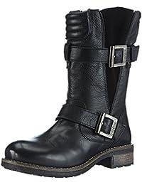 Buffalo London 2531 SAUVAGE SUEDE Damen Biker Boots