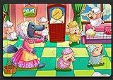 PrutX Puzzle de Historia de Madera Creativa Juguete de Aprendizaje temprano Regalos...