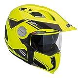 GIVI HX01DNYLL60 Hps X01D Integral Casco Tourer, Color Amarillo Neón, Talla 60/L