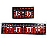 #9: 1 pc 15 Rods Abacus & 1 pc 7 Rods Abacus - Red