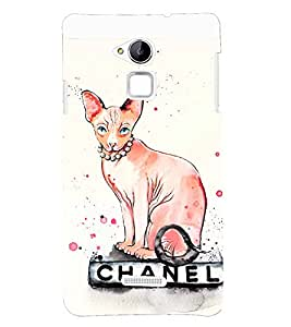 printtech Premium Best Quality Multi color Designer Printed back cover Back Case Cover for Coolpad Note 3