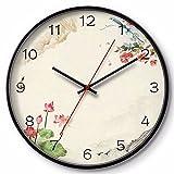 ZGSR-F Wanduhr Wohnzimmer Hochwertige Kunst Uhr 30 cm, B