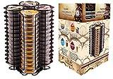 Ever Rich ® Porte-dosette à capsules T-Disc pour capsules de café Tassimo (60 BLACK)