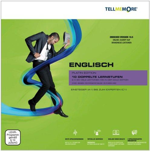 Tell me More Englisch. 10 Lernstufen. Platin Edition. Version 10.5 DVD-ROM für Windows 7 ;Vista; XP