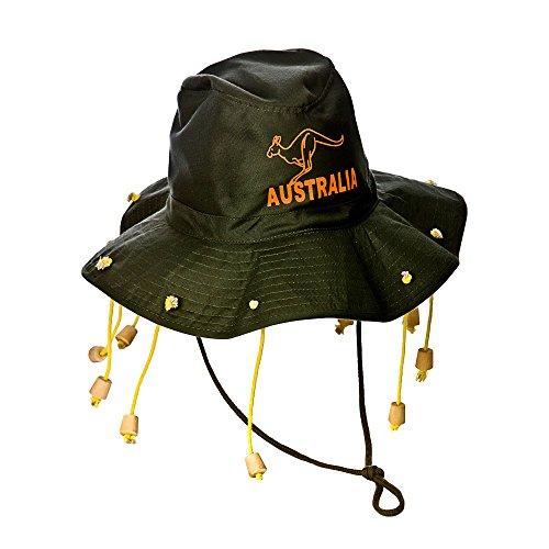 Australische Kostüm Hut, Kostüm Zubehör für Australien, Dschungel (Kostüm Australien Zubehör)
