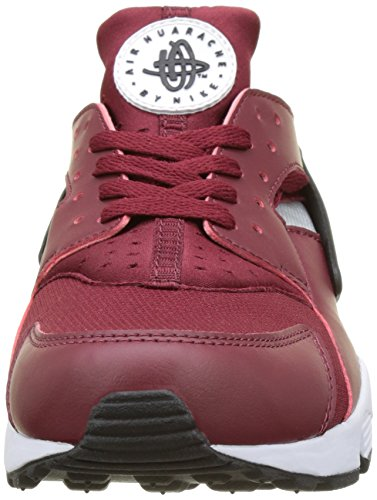 Nike 318429-603 Herren Turnschuhe Rot (Team Red/black/pure Platinum/white)