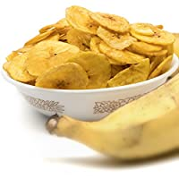 KOZHIKODEN'S Kerala Banana (Nendran) Chips, 300 Grams (Pack of 2*150g)