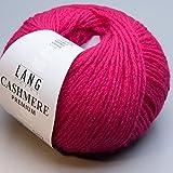 Lang Yarns - CASHMERE PREMIUM - Farbe 0165 Pink - 100% Kaschmirwolle (25 Gramm – 1 Knäuel)