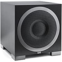 Elac S10EQ - Subwoofer (28-150 Hz, 50-150 Hz, Negro)