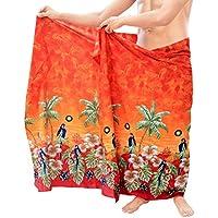 Strand tragen Mens Sarong Pareo Wickel Vertuschungen Badeanzug Aloha  Badebekleidung schwimmen