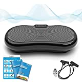 Bluefin Fitness Vibration Plate Ultra Slim 1000 Watts with Bluetooth Speakers