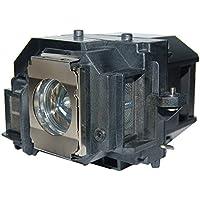 CTLAMP E54 Lampe de projecteur de rechange avec boîtier pour EX31/EX71/EX51/EB-S72/EB-X72/EB-S7/EB-X7/EB-W7/EB-S82/EB-S8/EB-X8/EB-W8/EB-X8e/EH-TW450/PowerLite HC 705HD/PowerLite 79/PowerLite S7/PowerLite S8+/PowerLite W7/H309A/H309C/H310C/H311B/H311C/H312A/H312B/H312C/H327A/H327C/H328A/H328B/H328C/H331A/H331C