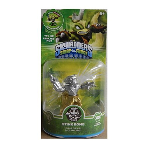 Skylanders SWAP Force Stink Bomb SILVER and GOLD Metallic Variant by - Skylander Stink Bomb