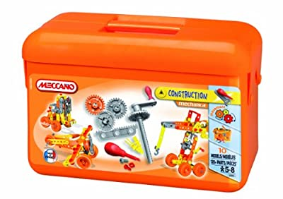 Meccano Set 2 Mechanical Construction Box
