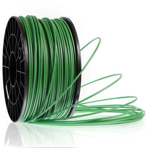 Kaisertech Filament für 3D Drucker 1kg PLA 3,00mm Tannengrün - Premium Qualität Spule Rolle