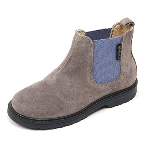 Naturino C2724 Beatles Bimbo Scarpa Grigio/Azzurro Boot Shoe Kid