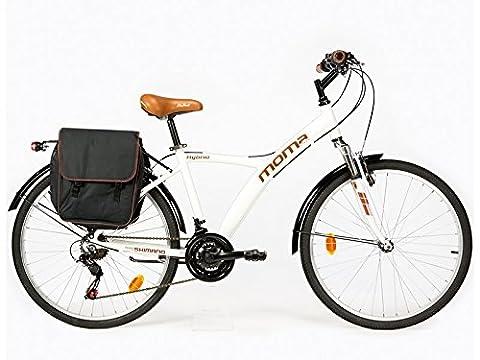Shimano Tz 50 - Vélo Hybride SHIMANO. Aluminium, 18 vitesses, roues
