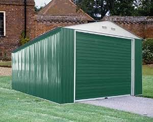 Garage mètal porte Basculante 372 x 604 x 258
