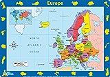 Little Wigwam - Set de table Carte de l'Europe