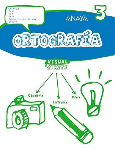 Ortografía 3. (Visualmente) - 9788469831410